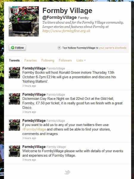 FormbyVillageTwitterStory