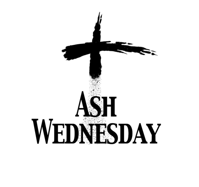 Today is Ash Wednesday