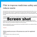 Repeat Prescription Scheme Survey