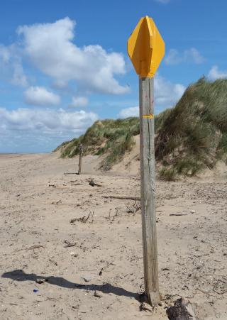Beach marker