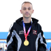 'Bionic Man Michael' banks three golden medals!