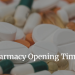 Southport and Formby Pharmacy Opening Times